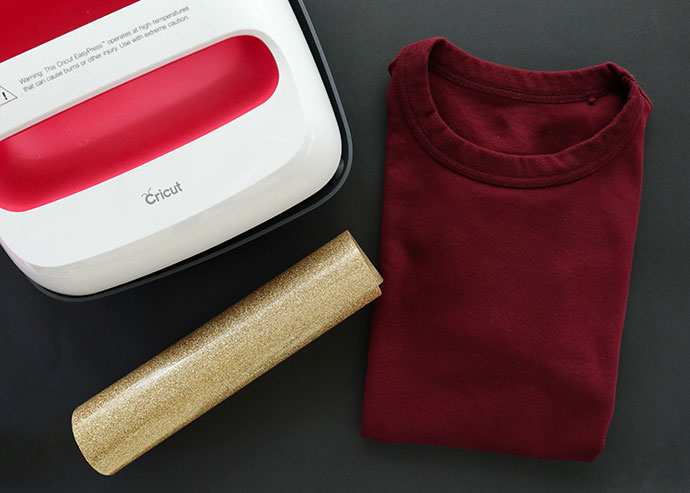 Weasley sweater tshirt with iron on vinyl supplies required