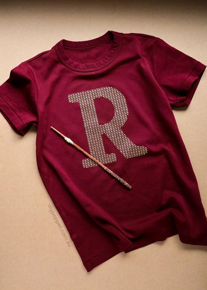 Ron weasley tshirt with broken wand