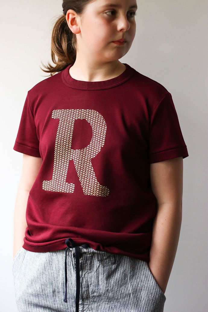 DIY Ron weasely sweater inspired tshirt