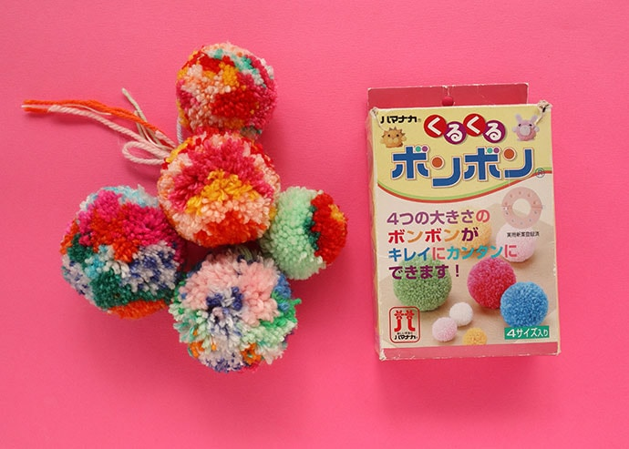 japanese pom pom maker