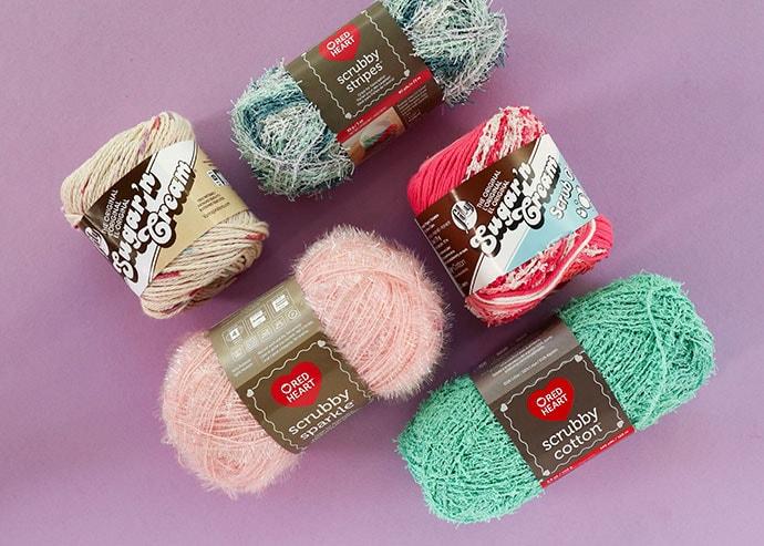Assorted dishcloth yarn - what is the best yarn to make dishcloth