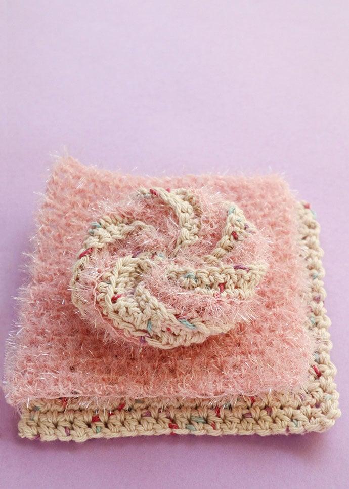 Handmade dishcloth set
