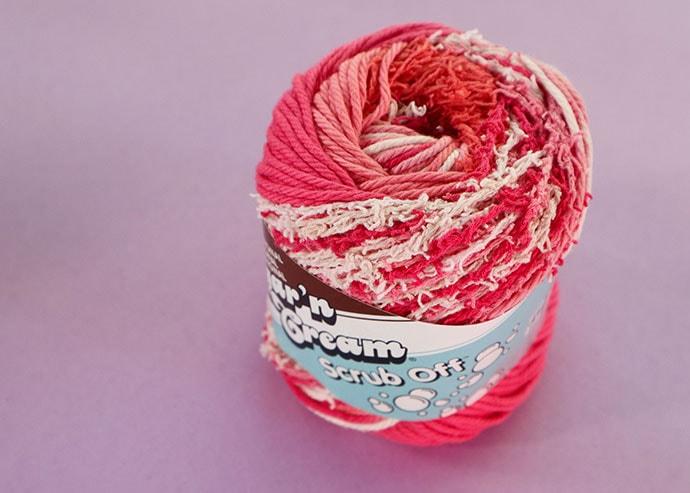 Lily sugar 'n cream scrub off yarn