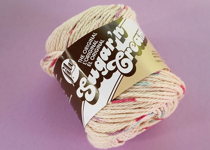 Sugar n cream Cotton yarn
