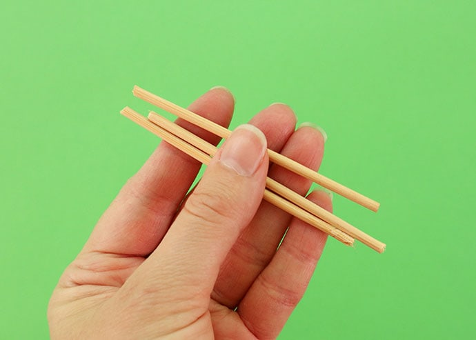 bamboo skewers cut to size