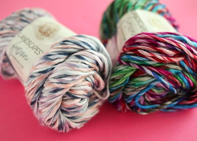 Lion brand landscape fusion yarn