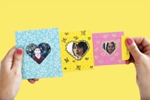 Mini Photo Gallery Valentine's Day Card