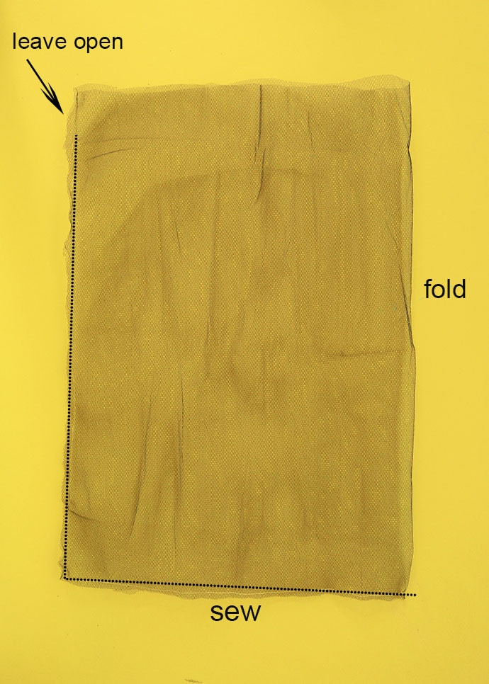 mesh produce bag sewing instructions