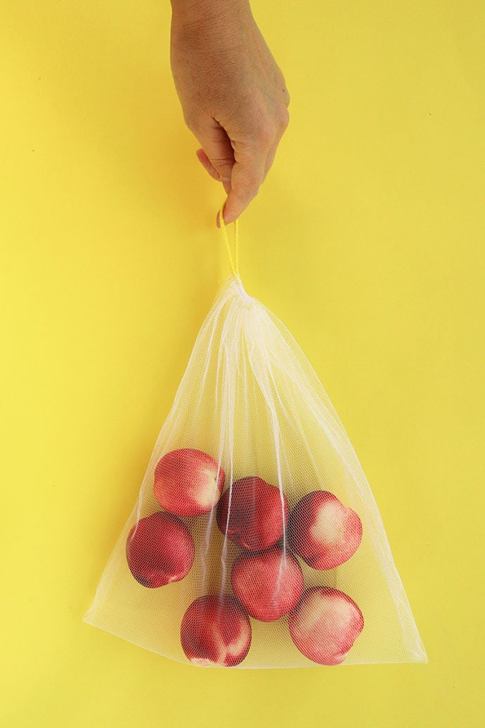 how to make reusable produce bags