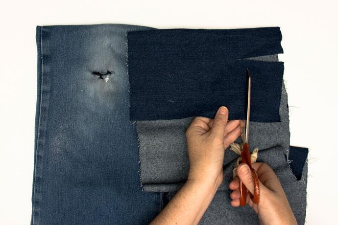 Mending with Sashiko Inspired Sewing Repairs