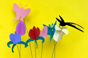 Make A Bouquet of Paper Flowers