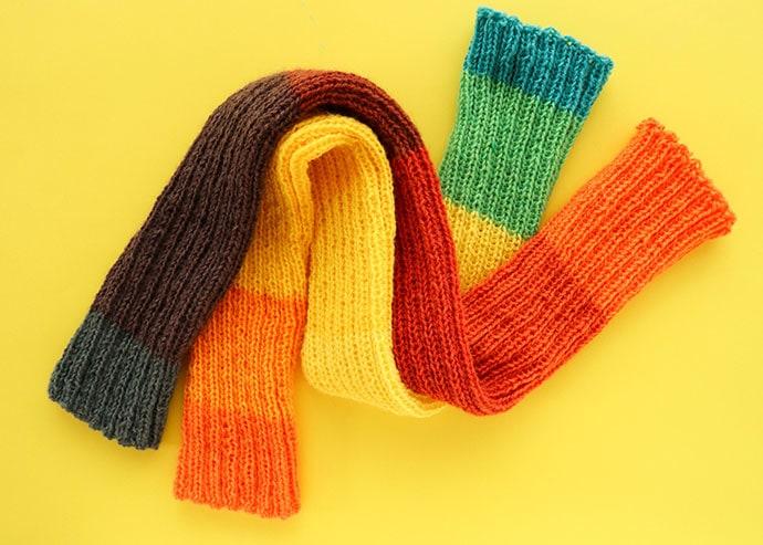 rainbow leg warmers knitting pattern