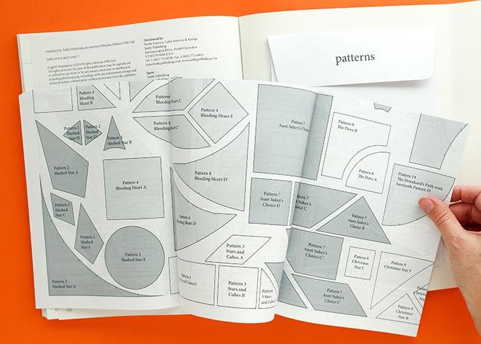 Shizuko Kuroha patchwork book review pattern sheet