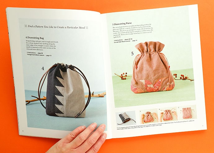 patchwork bag examples in book