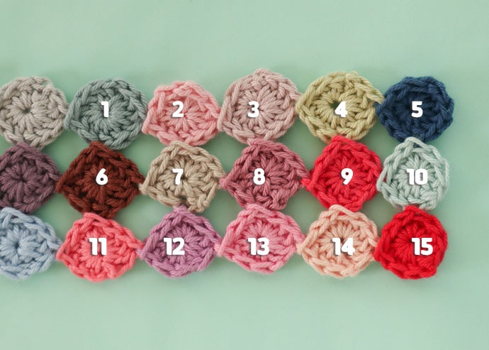 how to join as you go crochet scarf