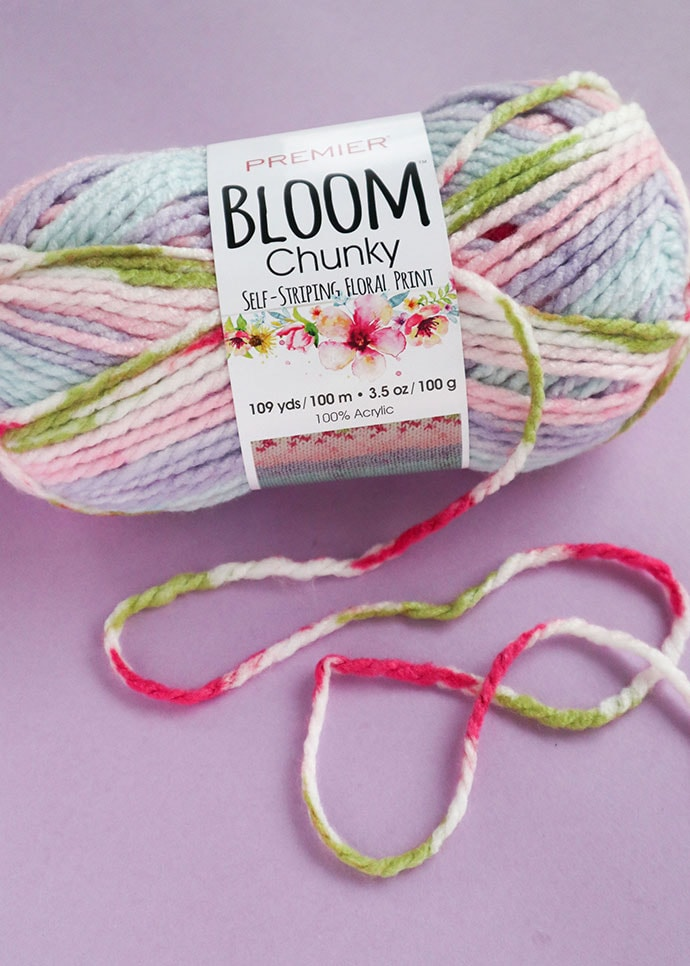 premier bloom chunky yarn