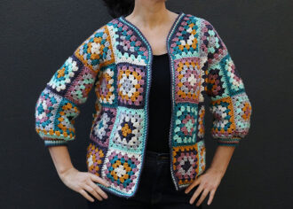 granny square cardigan crochet pattern