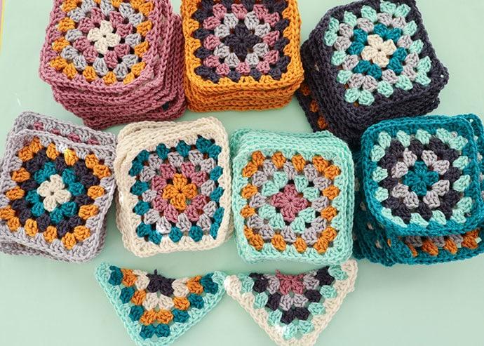 crochet granny sqaures