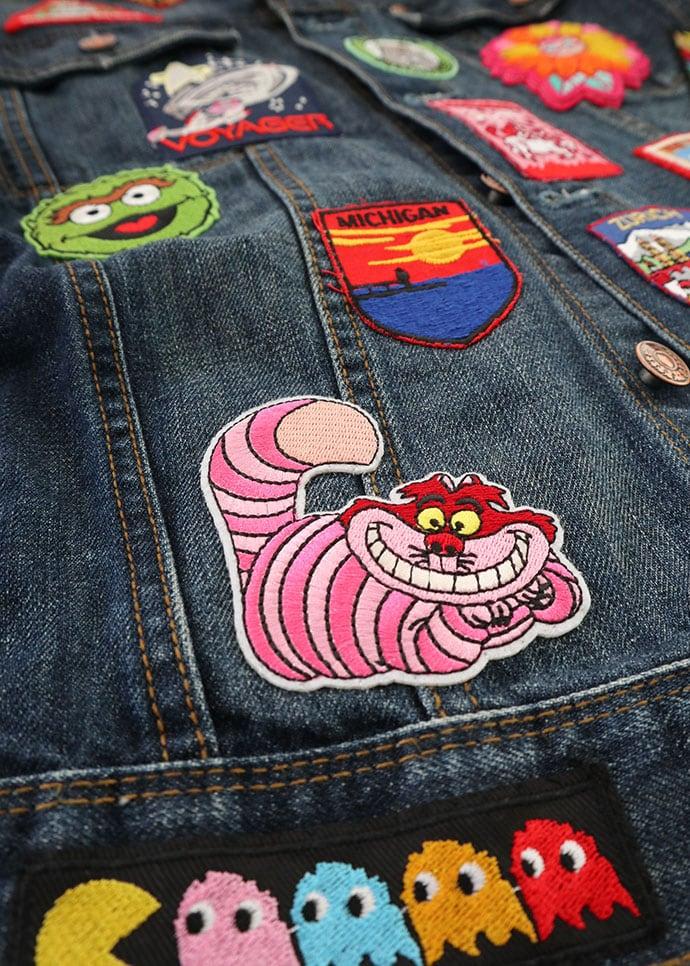 Alice in Wonderland Cheshire cat patch