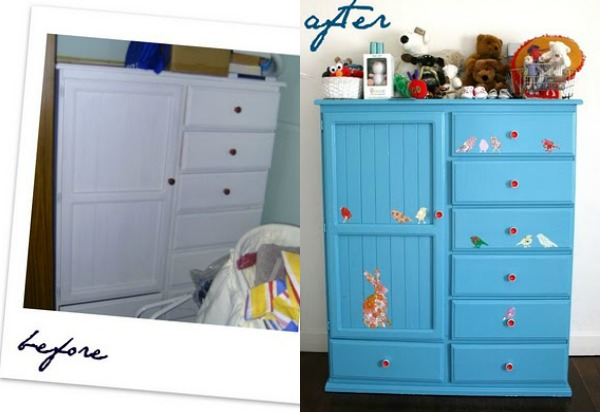before and after wardrobe update