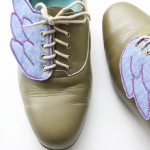 diy shoe wings