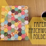 Hexagon patchwork folder