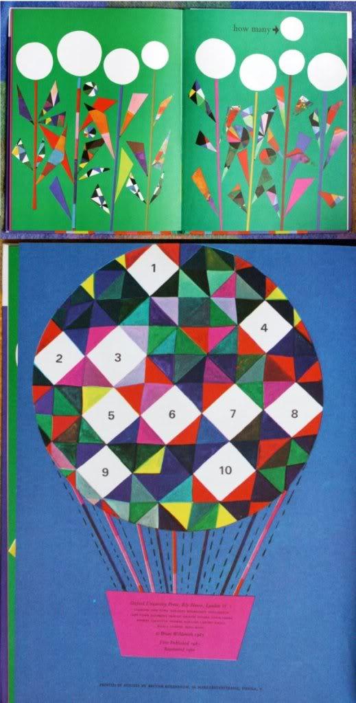 Brian Wildsmith 123 – Triangle inspiration