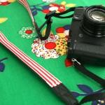 camera strap makeover