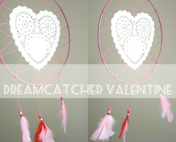 How To Valentine Doily Dreamcatcher My Poppet Makes