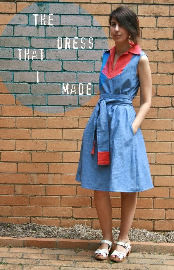 I made a dress…for me!