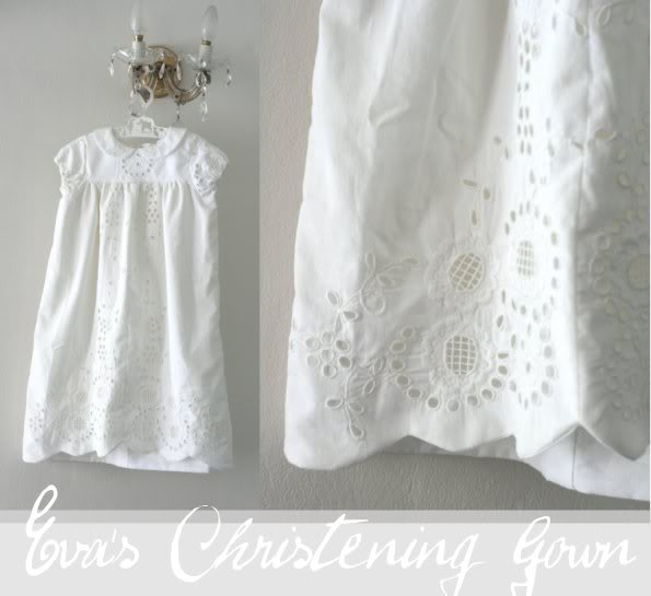 Eva\'s Christening Gown   My Poppet Makes