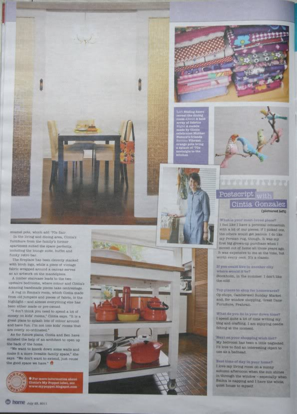 Herald Sun HOME magazine feature…
