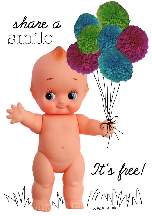 Kewpie doll poster