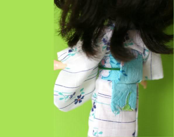 Blythe Stylin' – Perty gets a Kimono