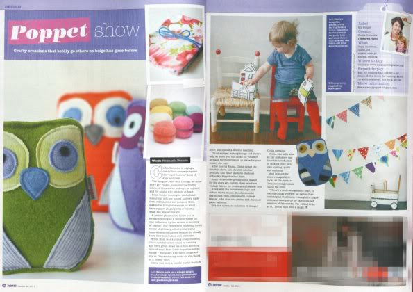Poppet show – My Poppet in the media this weekend