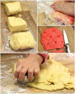 santa cookies steps