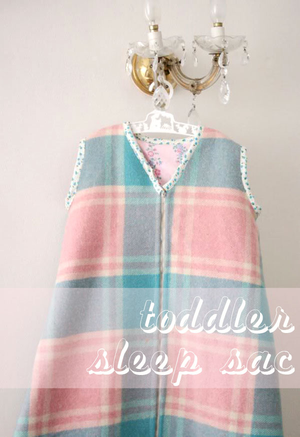 How To Making A Toddler Sleep Sac Without A Pattern My
