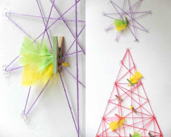 string christmas decoration star