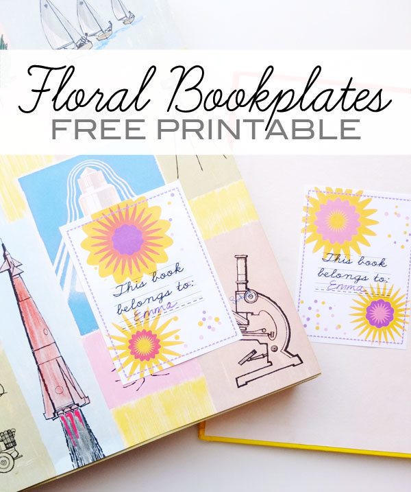 Bewitching image inside free printable bookplates