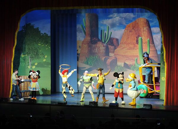 Mickeys rockin roadshow