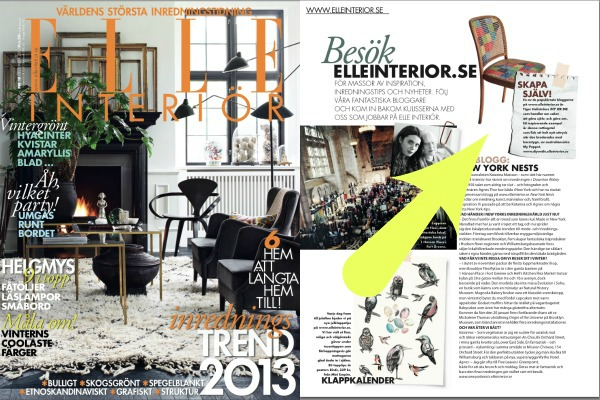 Swedish Elle Decor Dec 2012