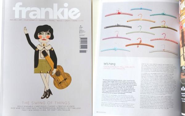 Frankie Magazine Coathangers