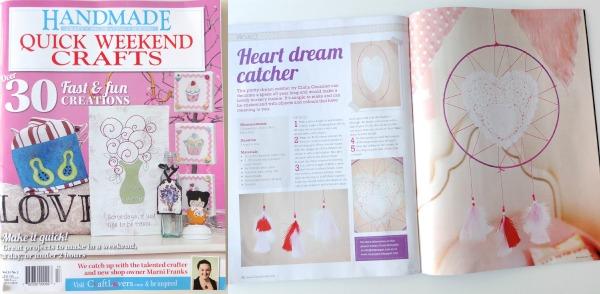 Handmade Magazine Vol 31 No2 - Dreamcatcher