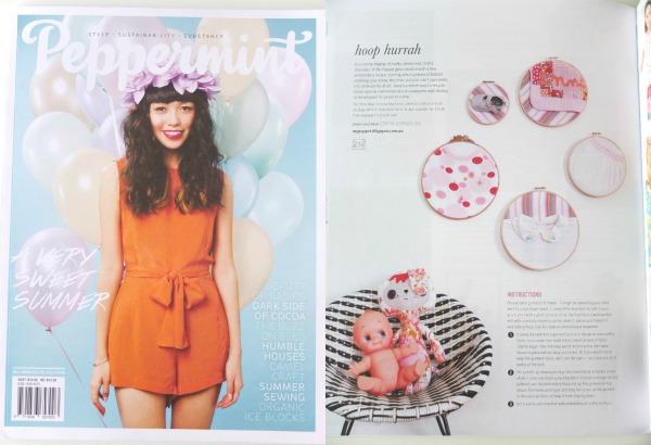 Peppermint Magazine craft project kids