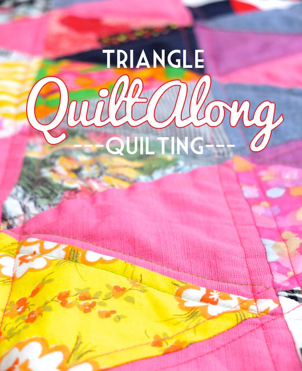 Triangle Quiltalong - Quilting Tutorial MyPoppet.com.au