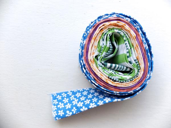 Quilt binding roll
