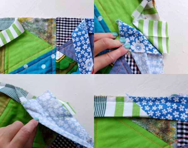 Joing binding to finish
