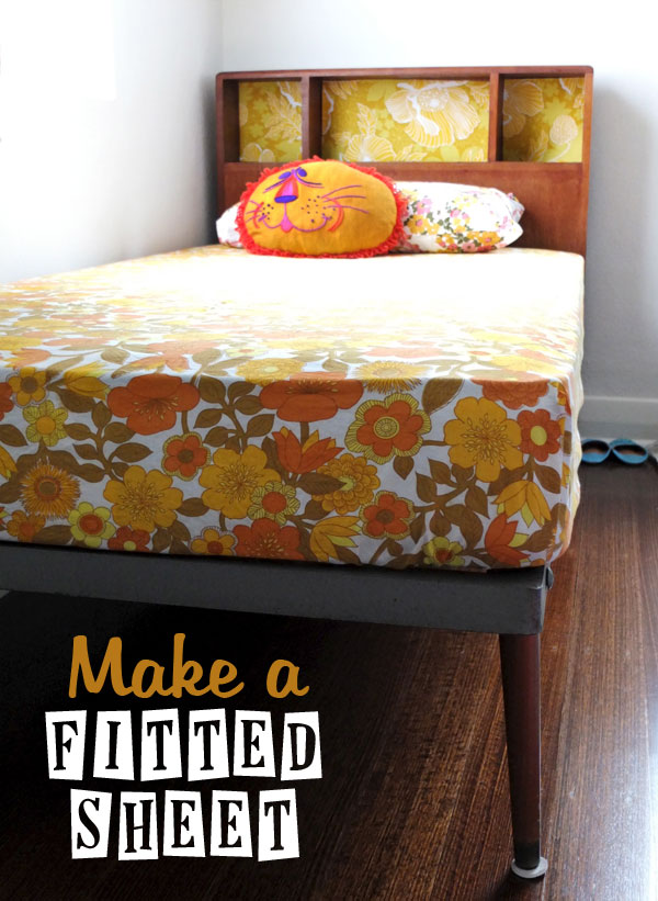 Make a Fitted Sheet Tutorial