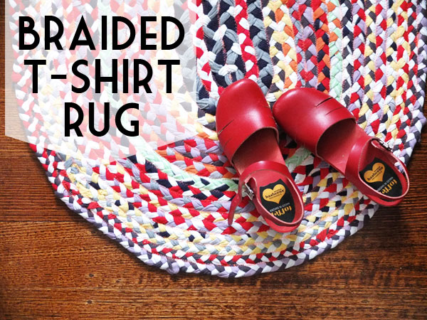 Braided T Shirt Rug Tutorial