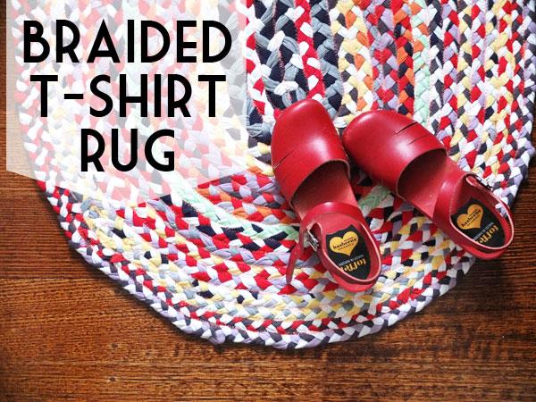Awesome Braided T Shirt Rug Tutorial